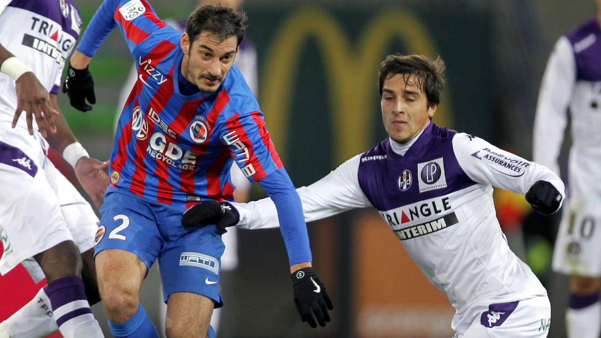 Caen VS Toulouse Soccer Prediction