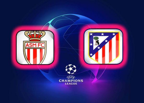 Champions League Monaco vs Atlético Madrid