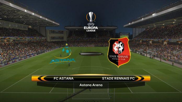 Europa League Astana vs Rennes