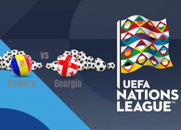 Andorra vs Georgia UEFA Nations League