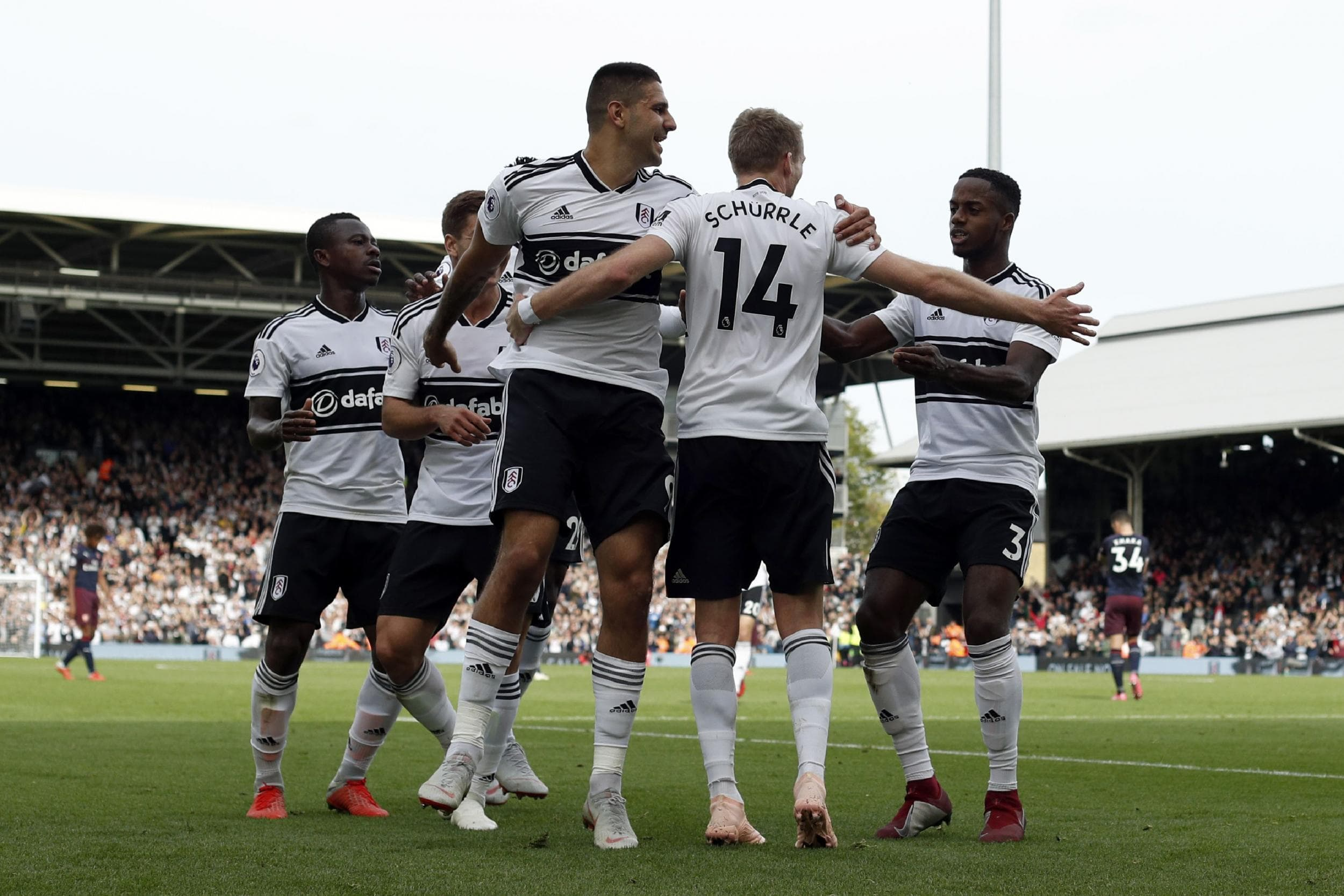 Premier League Huddersfield vs Fulham