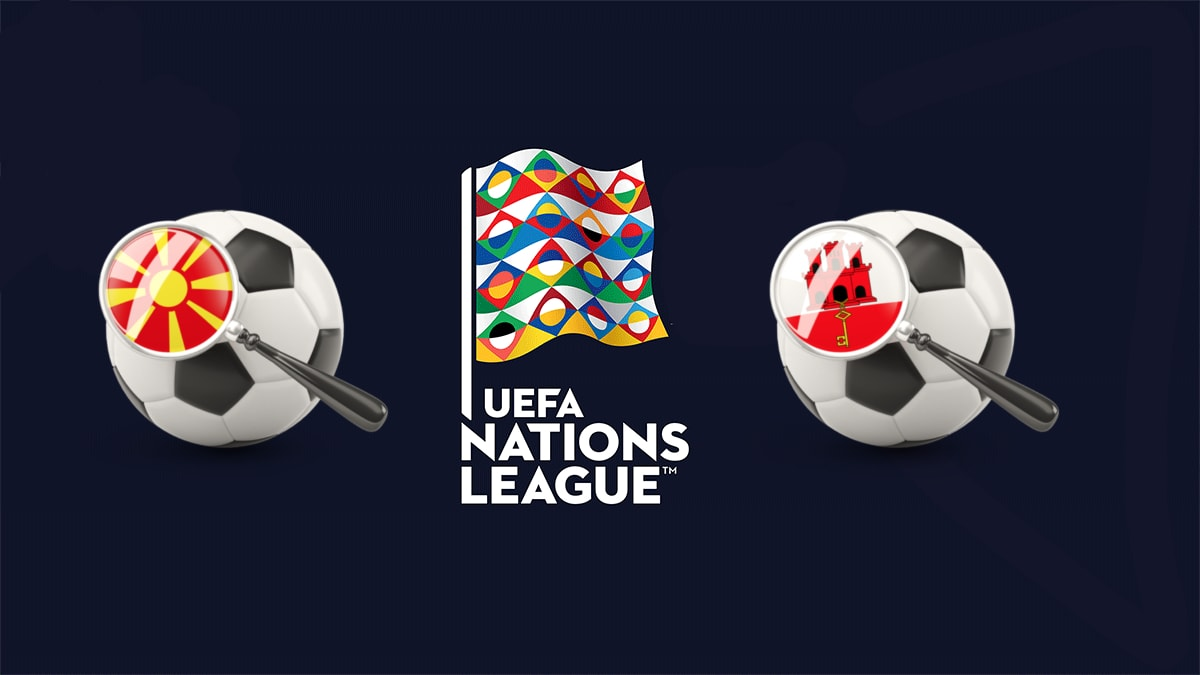 Macedonia vs Gibraltar UEFA Nations League