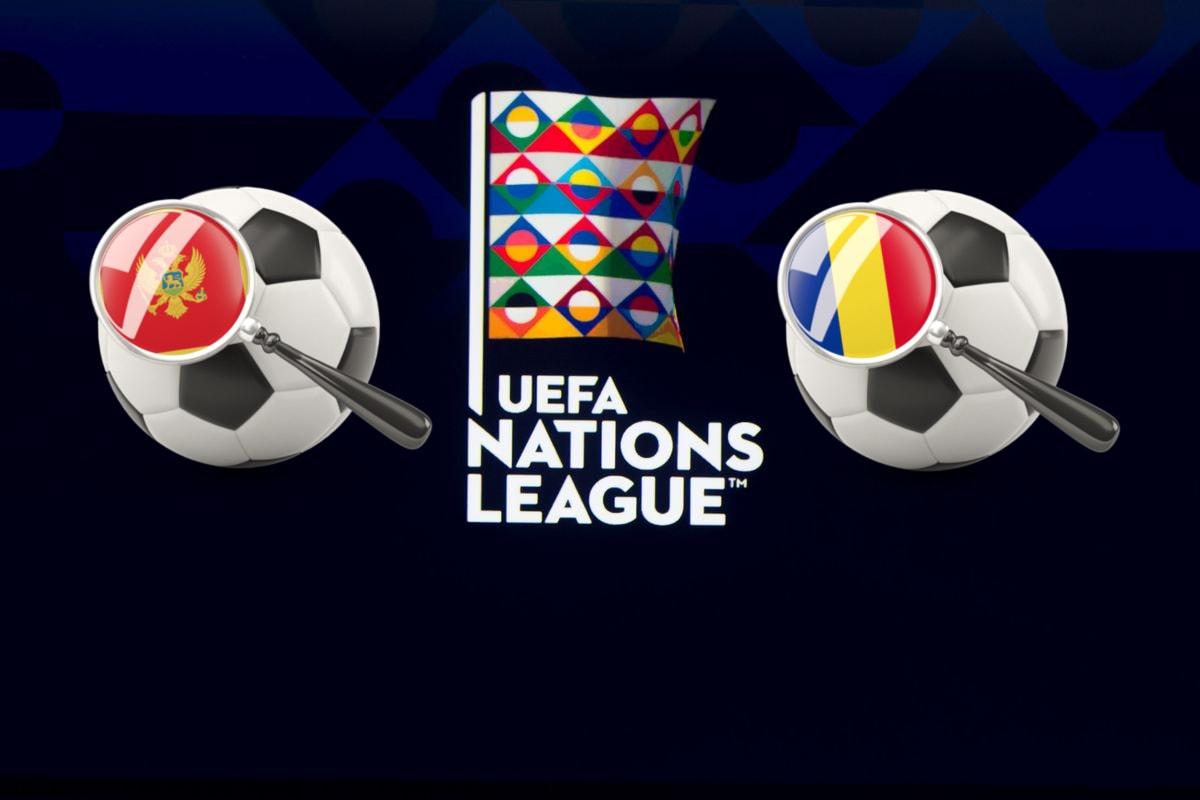 UEFA Nations League Montenegro vs Romania