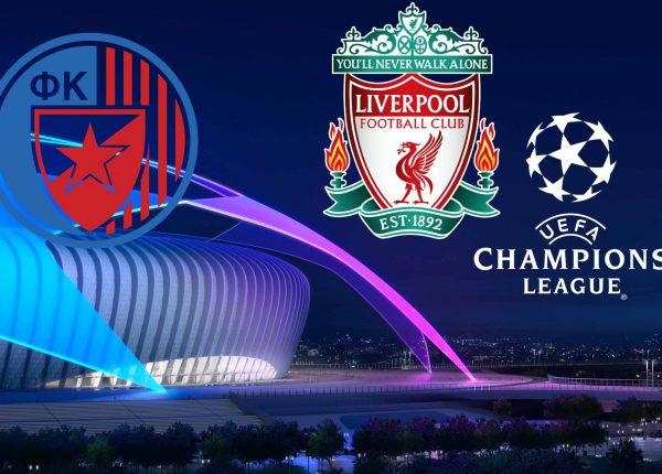 Champions League Red Star Belgrade vs Liverpool