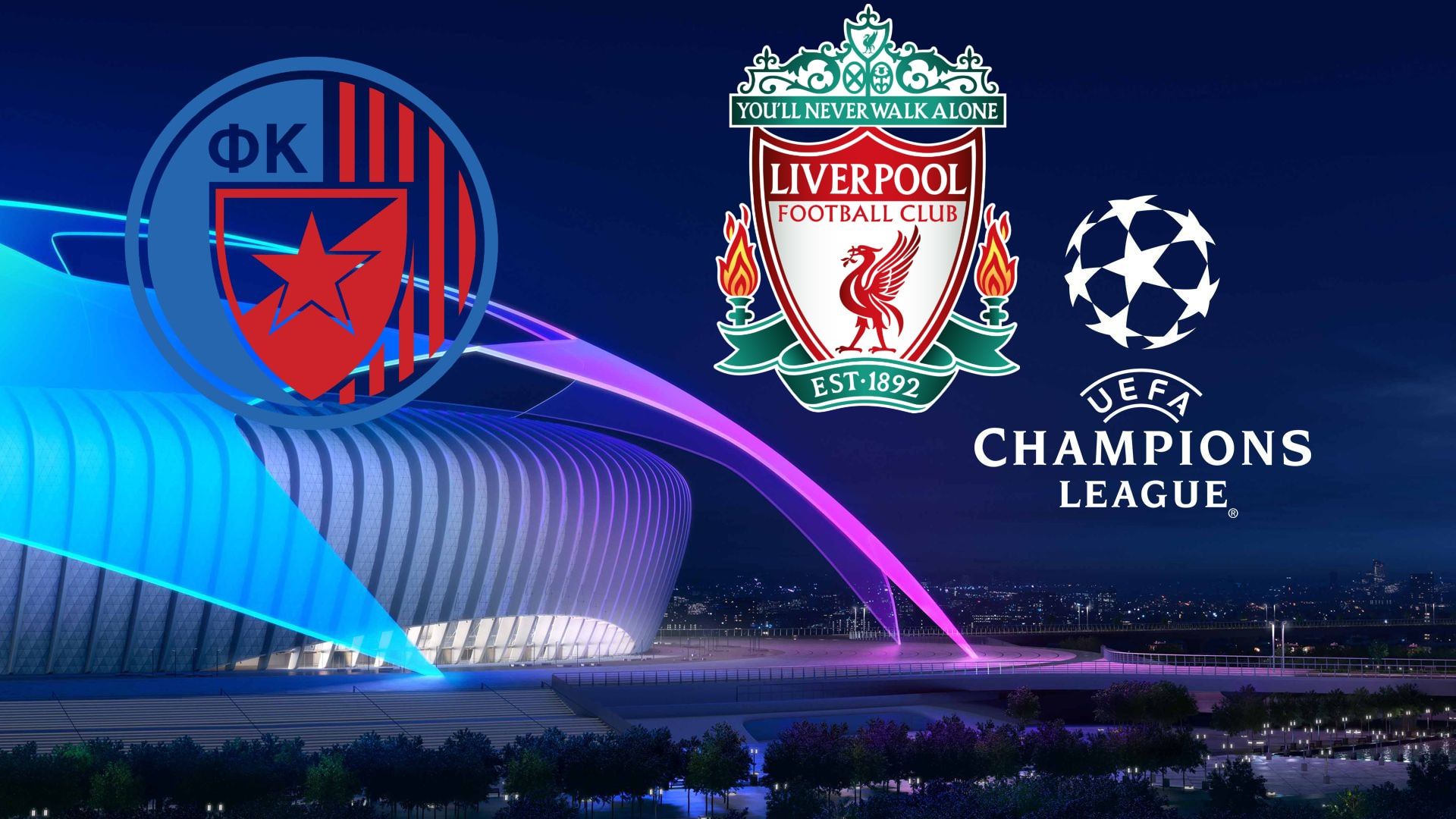 Champions League Red Star Belgrade vs Liverpool