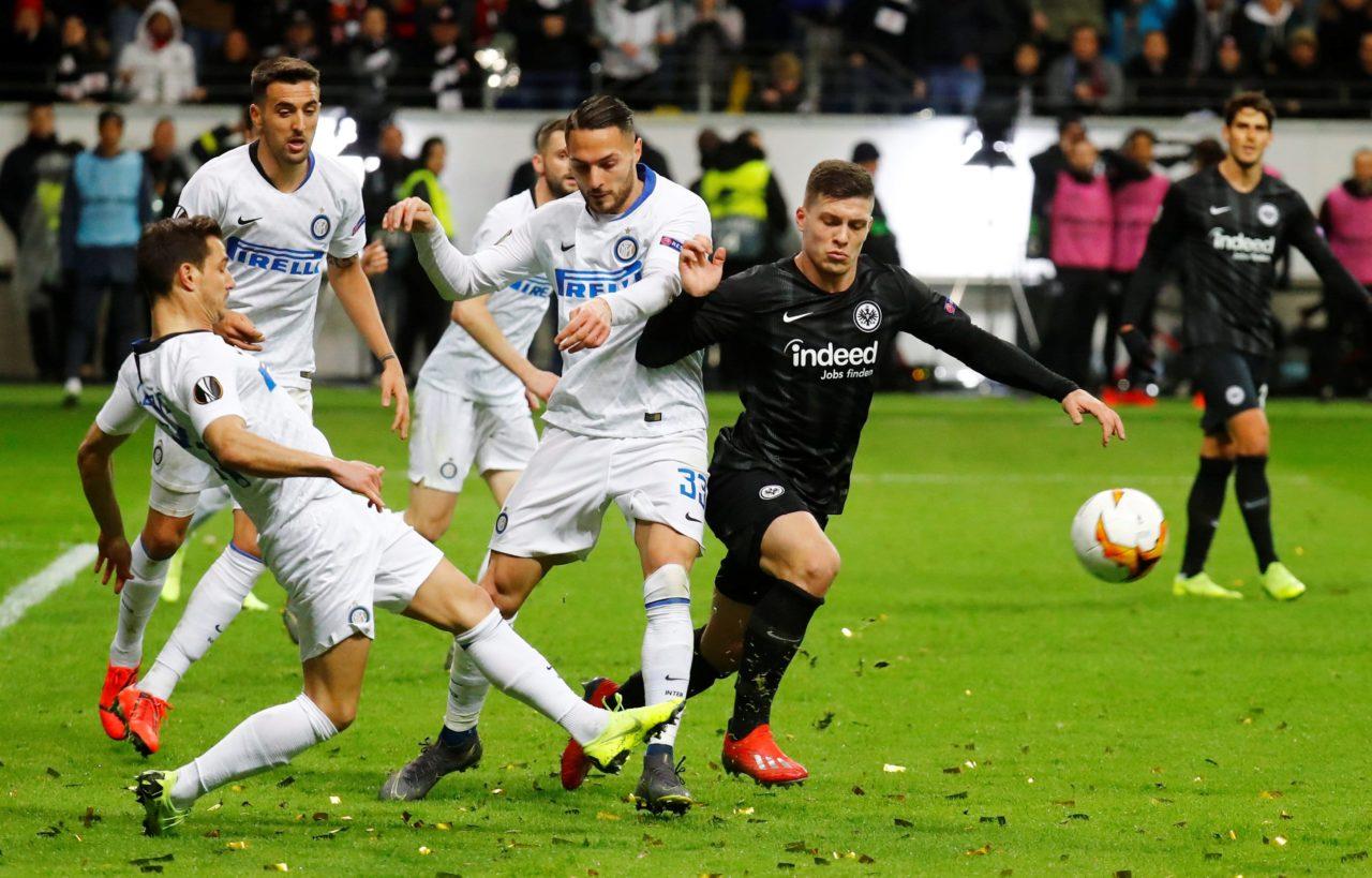 Inter Vs Frankfurt