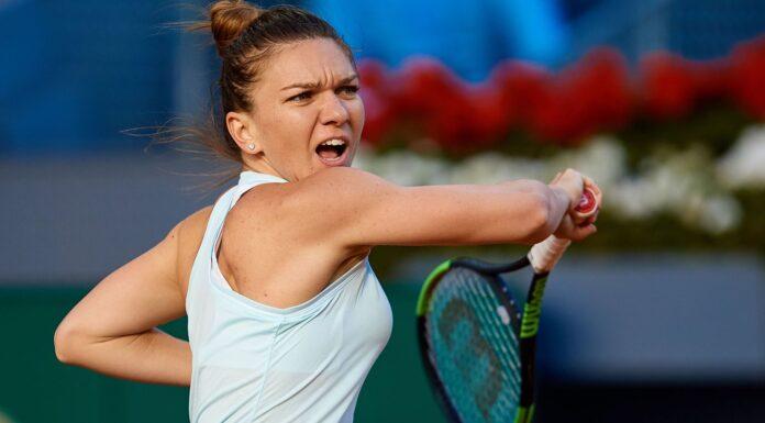 Simona Halep, number 1 seed on the Palermo WTA slag